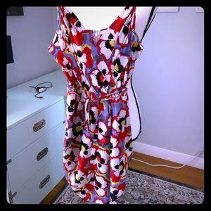 Yumi Kim poppy print silk dress